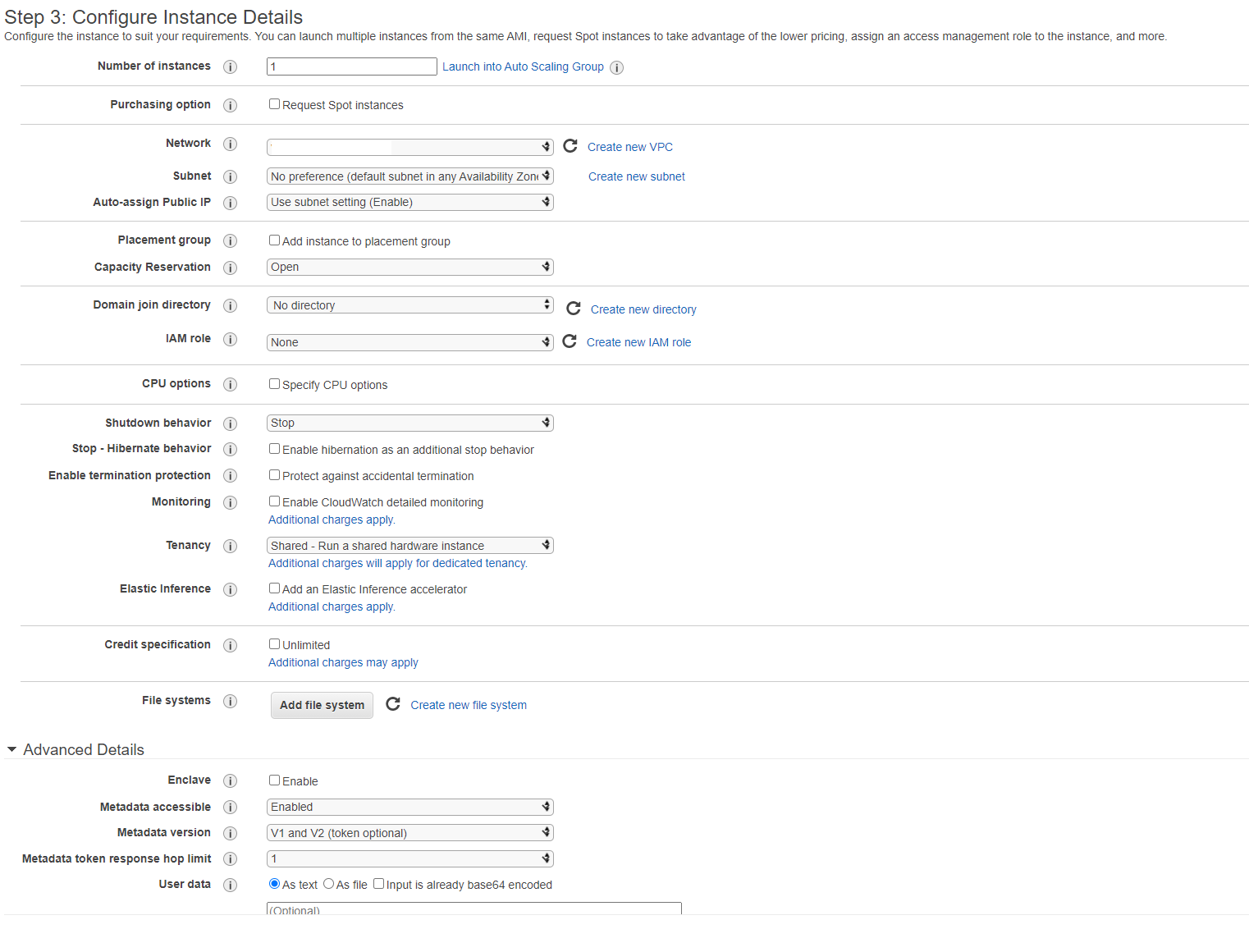 Lots of choices in AWS console - do you remember them all?