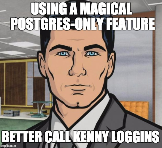 Archer meme warning you about magical features