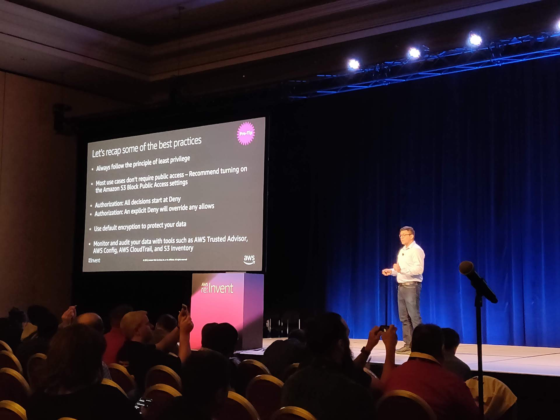 AWS re:Invent 2018 through the eyes of a first timer - /dev/solita
