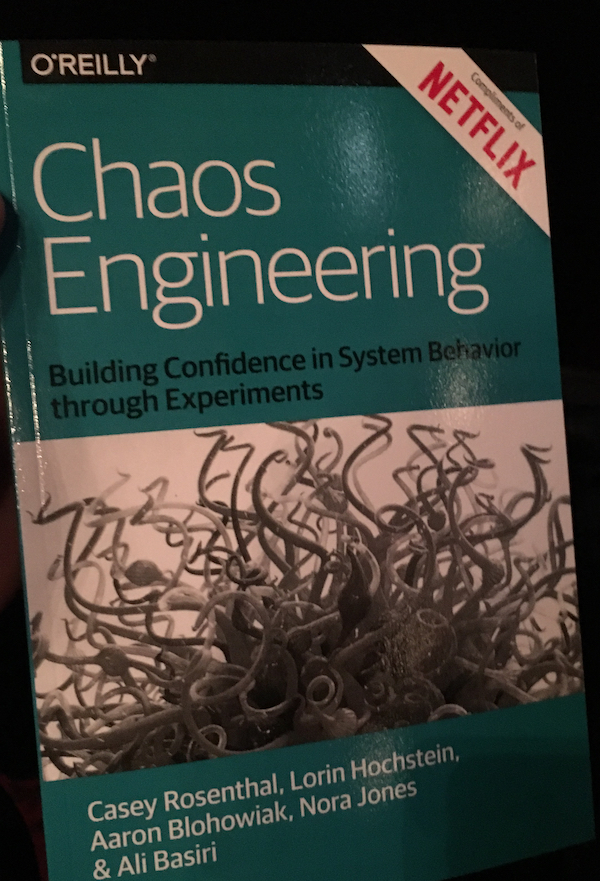 Chaos engineering book cover
